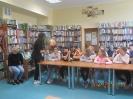 Spotkanie autorskie M.Popławskiej Marek z uczniami kl.IV a w ramach