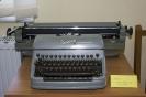 Pierwsza maszyna do pisania  w bibliotece