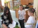 Warsztaty literackie dla dzieci kl. I C z udziałem autorki książek dla dzieci z M. Popławską Marek