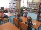 Lekcja biblioteczna dla uczniów kl. Ia
