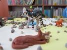 """Wystawa prac plastycznych pt. """"Zwierzęta Afryki"""" - Rok 2012"""